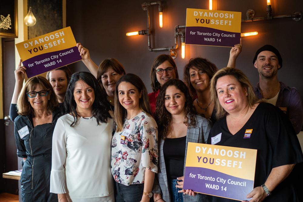 Dyanoosh Youssefi Campaign Launch